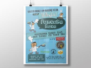 Pancake Race Poster