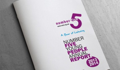 No5 Annual Report Cover Design