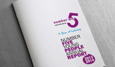 No5 Annual Report Cover Design