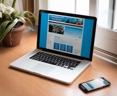 Homeview TV Responsive Web Design